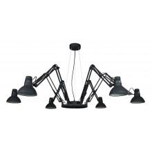 Люстра в стиле Лофт Arte Lamp A2043SP-6BK черный
