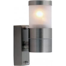 Бра уличное Arte Lamp A3201AL-1SS матовое серебро