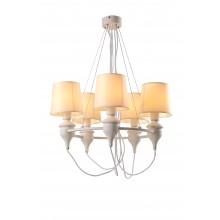 Люстра подвесная Arte Lamp A3326LM-5WH белый