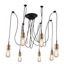 Люстра в стиле Лофт Arte Lamp A4290SP-7BK черный