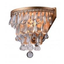 Бра хрустальное Arte Lamp A4298AP-1AB античная бронза