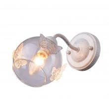 Бра Arte Lamp A5004AP-1WG бело-золотой