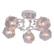 Люстра потолочная Arte Lamp A5004PL-5WG бело-золотой