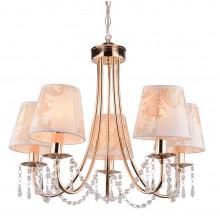 Люстра подвесная Arte Lamp A5008LM-5GO золото