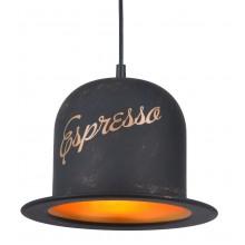 Люстра в стиле Лофт Arte Lamp A5064SP-1BN черно-золотой