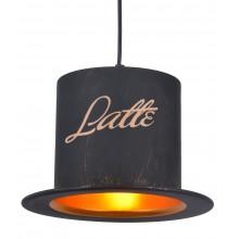 Люстра в стиле Лофт Arte Lamp A5065SP-1BN черно-золотой
