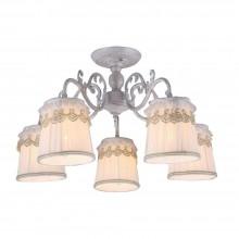Люстра потолочная Arte Lamp A5709PL-5WG бело-золотой