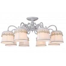 Люстра потолочная Arte Lamp A5709PL-8WG бело-золотой