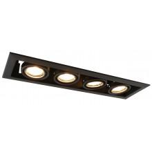 """Светильник """"кардан"""" Arte Lamp A5941PL-4BK черный"""