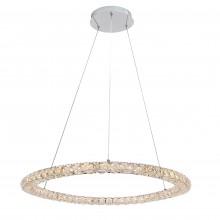 Люстра подвесная светодиодная Arte Lamp A6704SP-1CC хром 36 Вт 3000K