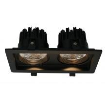 """Светильник """"кардан"""" Arte Lamp A7007PL-2BK черный 7 Вт 3000K"""