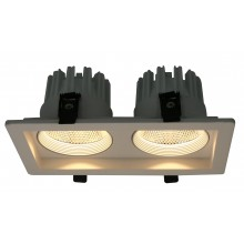 "Светильник ""кардан"" Arte Lamp A7007PL-2WH белый 7 Вт 3000K"