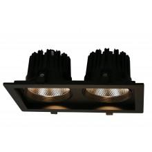 """Светильник """"кардан"""" Arte Lamp A7018PL-2BK черный 18 Вт 3000K"""