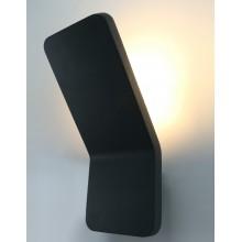 Бра уличное светодиодное Arte Lamp A8053AL-1GY серый 6 Вт 3000K
