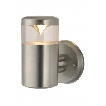 Бра уличное Arte Lamp A8161AL-1SS матовое серебро