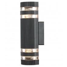 Бра уличное Arte Lamp A8162AL-2BK черный