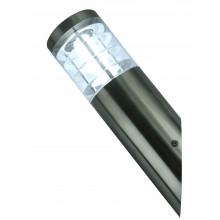 Бра уличное Arte Lamp A8363AL-1SS матовое серебро