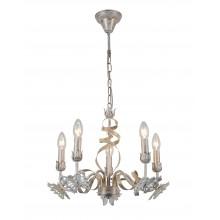 Люстра подвесная Arte Lamp A8626LM-5WG бело-золотой