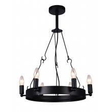 Люстра в стиле Лофт Arte Lamp A8811SP-6BK черный