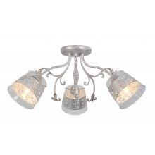 Люстра потолочная Arte Lamp A9081PL-3WG бело-золотой