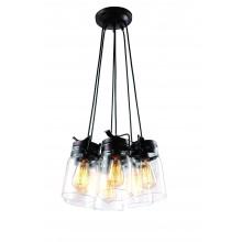 Люстра в стиле Лофт Arte Lamp A9179SP-6CK шоколад