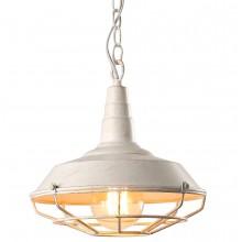 Люстра в стиле Лофт Arte Lamp A9181SP-1WG бело-золотой