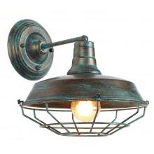 Бра в стиле Лофт Arte Lamp A9183AP-1BG старая медь