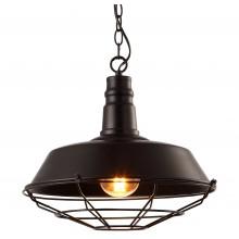 Люстра в стиле Лофт Arte Lamp A9183SP-1BK черный
