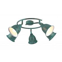 Светильник спот Arte Lamp A9557PL-5BG старая медь