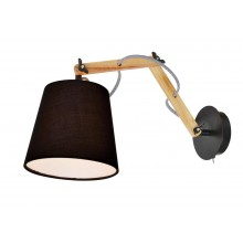 Бра в стиле Лофт Arte Lamp A5700AP-1BK