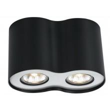 Накладной точечный светильник Arte Lamp A5633PL-2BK