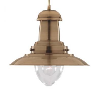 Светильник в стиле Лофт подвесной Arte Lamp Fisherman A5530SP-1AB
