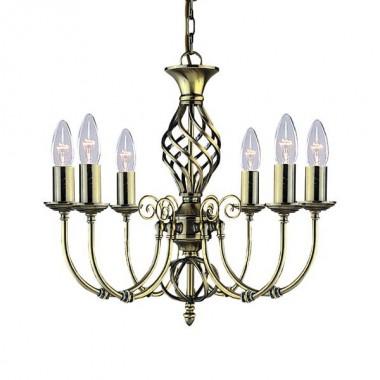 Люстра подвесная Arte Lamp Zanzibar A8392LM-6AB