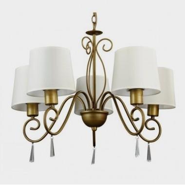 Люстра подвесная Arte Lamp Carolina A9239LM-5BR