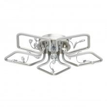 Люстра потолочная светодиодная Mw-Light 459011805 Ивонна 30 Вт 3000К серебро