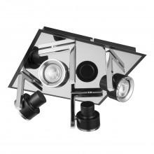Светильник спот Mw-Light 541020704 Арно хром/черный