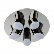 Светодиодный потолочный светильник Regenbogen Life 609013605 Фленсбург 20 Вт 3200К Хром