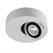 Накладной точечный светильник Regenbogen Life 637016401 Круз 7 Вт 3000К Белый