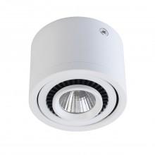 Накладной точечный светильник Regenbogen Life 637017001 Круз 3 Вт 3000К Белый