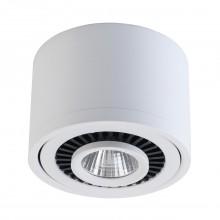 Накладной точечный светильник Regenbogen Life 637017201 Круз 7 Вт 3000К Белый