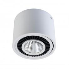 Накладной точечный светильник Regenbogen Life 637017301 Круз 15 Вт 3000К Белый
