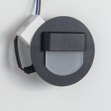 Подсветка светодиодная Citilux CLD006R5 Скалли 1 Вт 3000K Черный