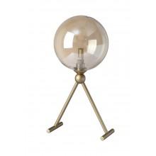 Настольная лампа Crystal Lux FRANCISCA LG1 GOLD/COGNAC G9 1*7W Золото