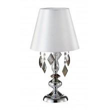 Настольная лампа Crystal Lux MERCEDES LG1 CHROME/SMOKE E14 1*60W Хром