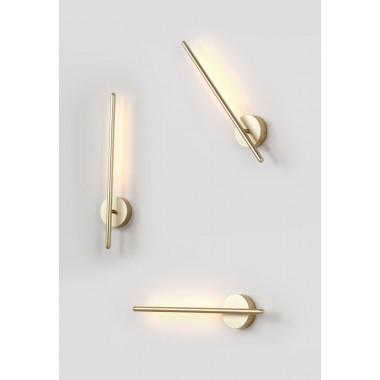 Поворотный настенный светильник Crystal Lux VERDE AP L500 GOLD