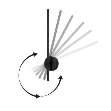 Поворотный настенный светильник Crystal Lux VERDE AP L500 BLACK