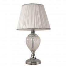 Настольная лампа Crystal Lux ALMA WHITE LG1 хром