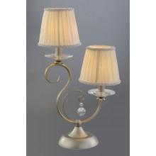 Настольная лампа Crystal Lux ASTRA LG2 золотой с серебром