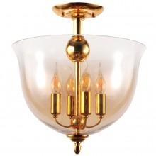 Люстра в стиле Лофт Crystal Lux ATLAS PL4 GOLD золотой