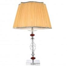 Настольная лампа Crystal Lux CATARINA LG1 GOLD/TRANSPARENT-COGNAC золотой/прозрачный